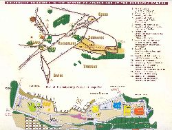 The map of the University of Athens